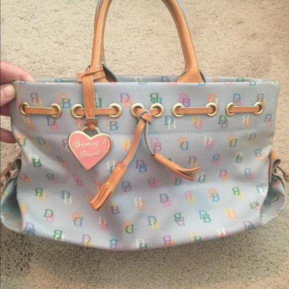Dooney & Bourke Handbags - Used genuine  Dooney and Burke tote bag/purse